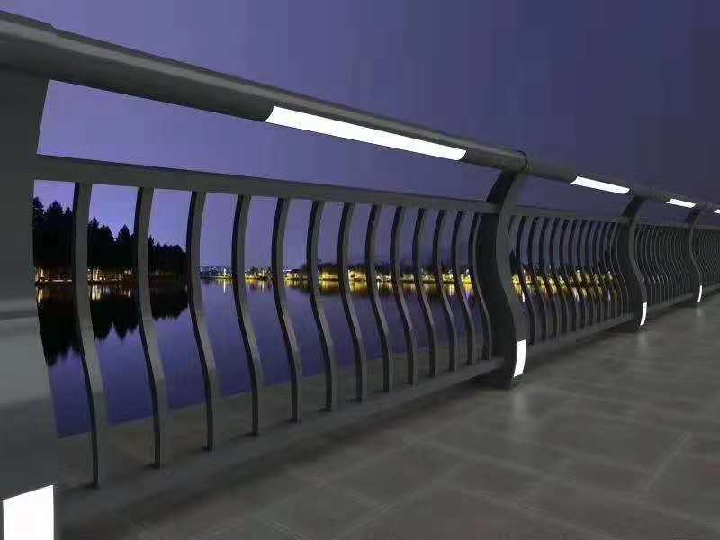 道路灯光护栏